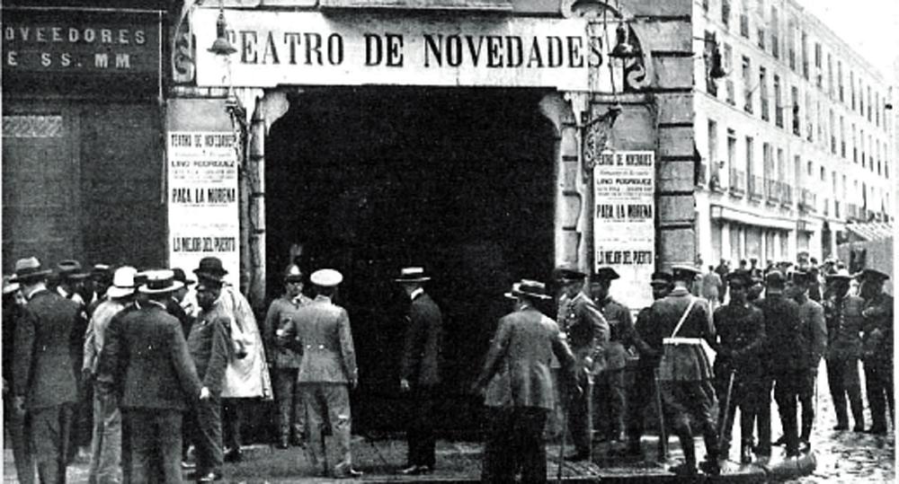 Incendio Teatro Novedades: casi un siglo después