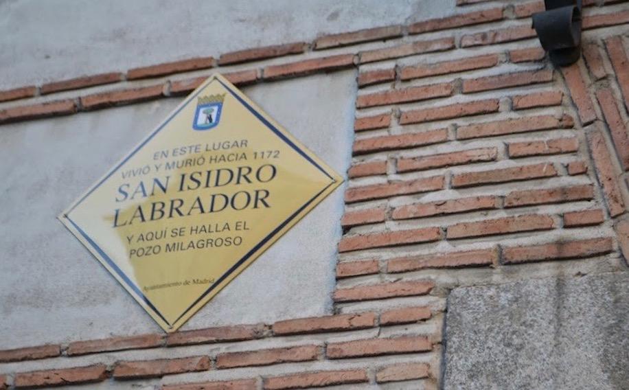 Placa Museo San Isidro