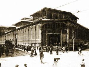 Foto antigua Mercado de La Cebada