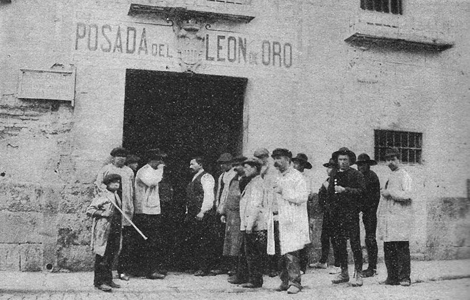 Cava-Baja-Cava-Alta-Posada-Leon-Oro