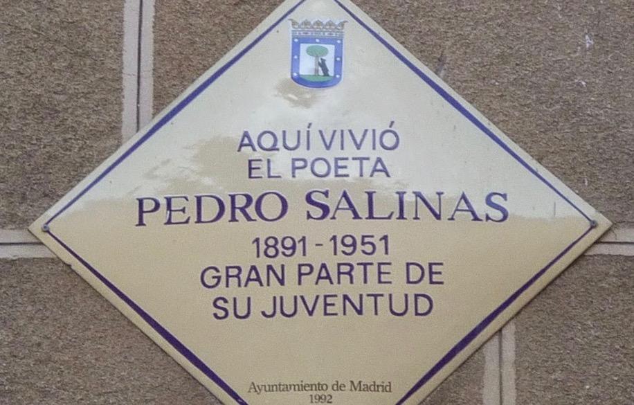 Placa Pedro Salinas
