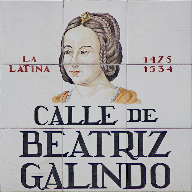 Beatriz Galindo 'La Latina'