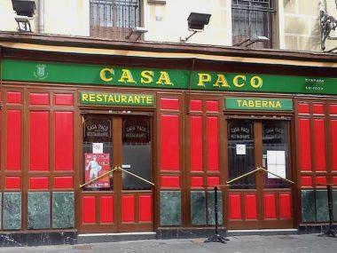 Taberna Casa Paco Puerta Cerrada