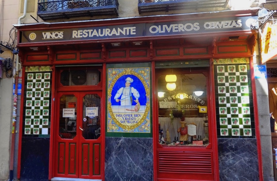 Tabernas centenarias La Latina